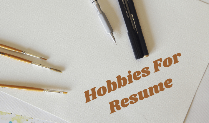 hobbies for resume